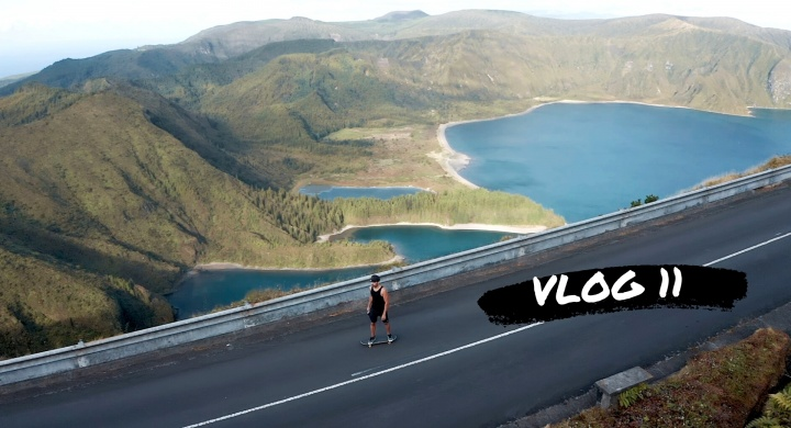 Skateboarding Lagoa do Fogo Ilha de São Miguel Açores